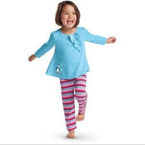 9e2972932d American Girl Pajamas - ✨Ruffled Penguin PJs Bitty Baby American Girl